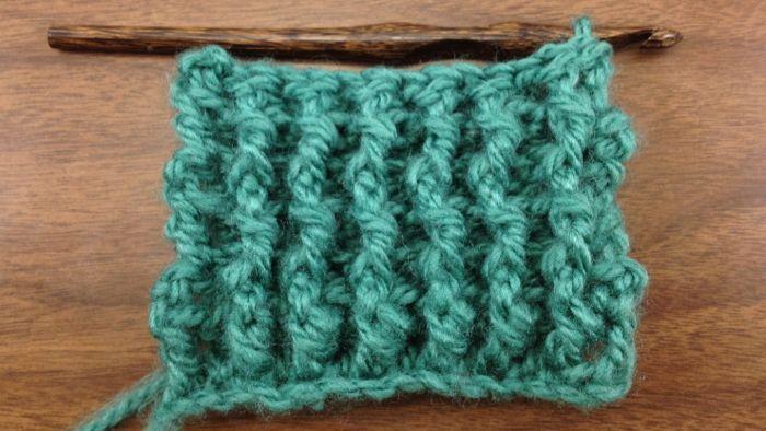 Crocheting Ribbing : how to Crochet Single Rib Stitch Crochet Pinterest