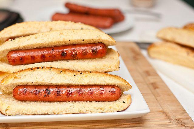Homemade Hot Dog Buns | recipes to make... | Pinterest
