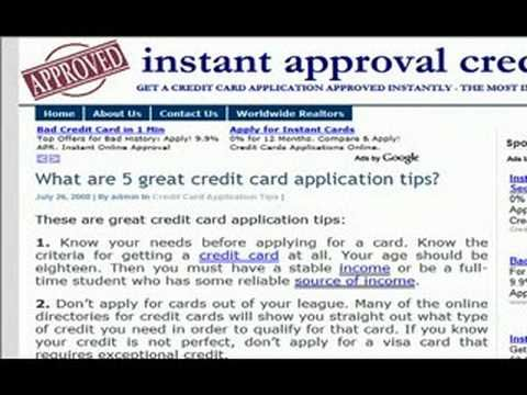 credit card guarantee services