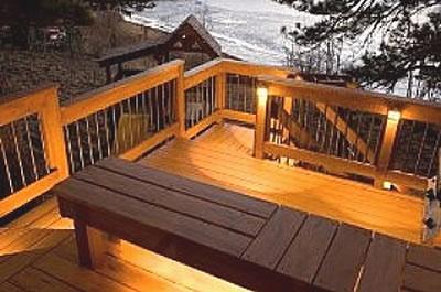 deck lighting lake house ideas pinterest
