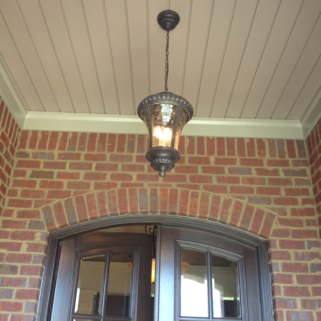 Light fixture over front door exterior remodel pinterest for Front entrance light fixtures