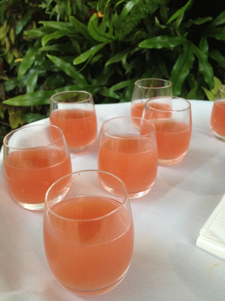 Habanero-infused tequila, fresh lime, ginger, blood orange and ...