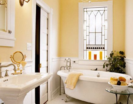small yellow country bathroom bathroom pictures pinterest