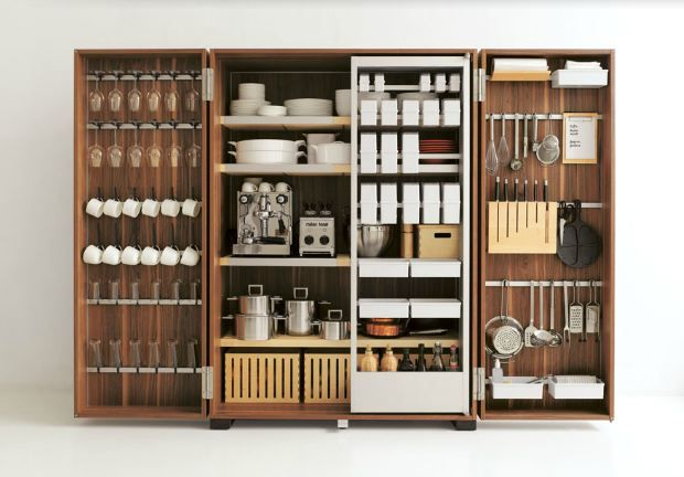 Bulthaup tool cabinet for kitchen home kitchen for Bulthaup b2 kitchen