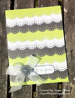 ... Ten Things You Can Do with Border Punches   Card Samples   Pinterest
