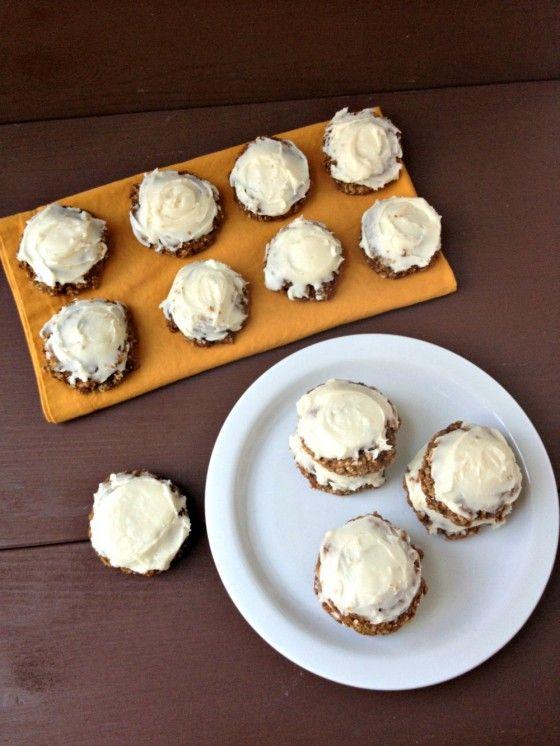 Iced Pumpkin Oatmeal Cookies | Fall Edible Delights | Pinterest