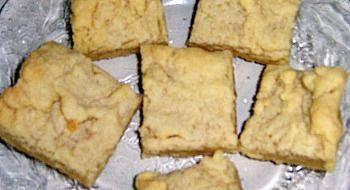 mocha shortbread recipe