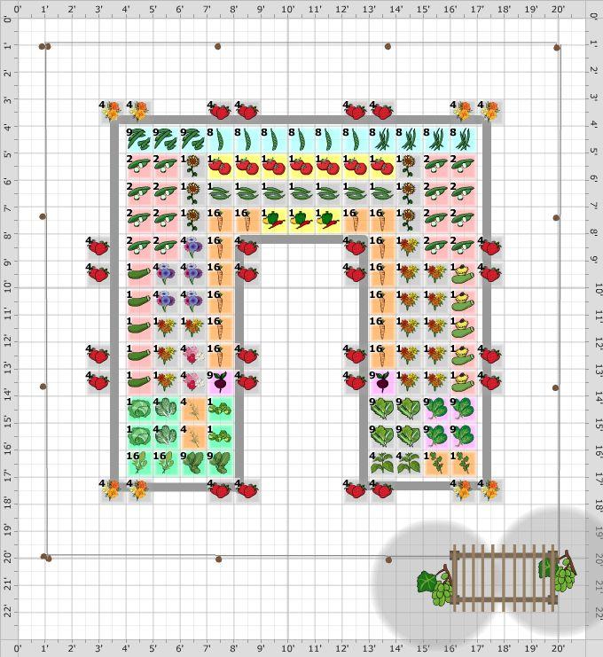 Garden Plan 2013 Christy 39 S Garden Love Square Foot