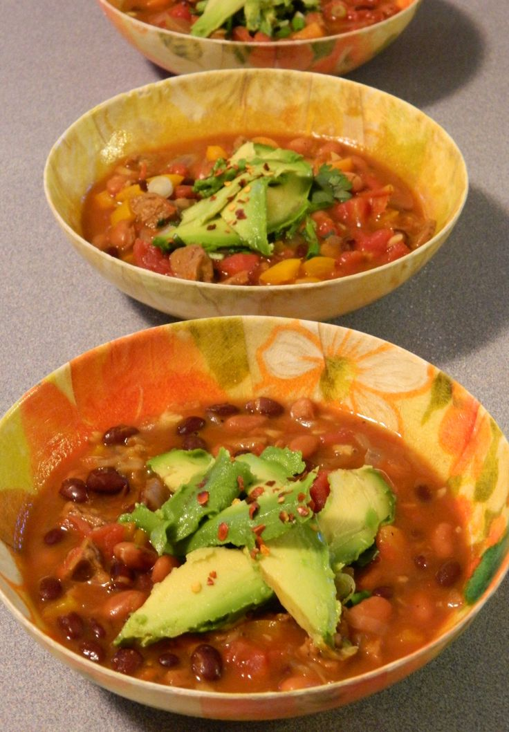 Spicy Black Bean Soup | Healthy Eating | Pinterest