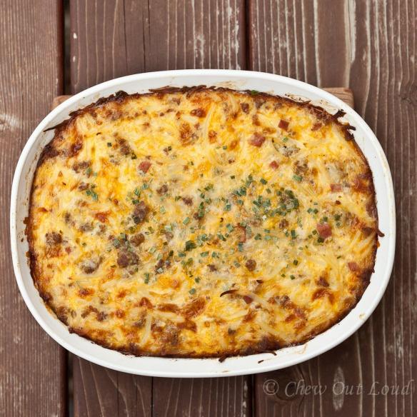 Cheesy Potato Breakfast Casserole | Recipe