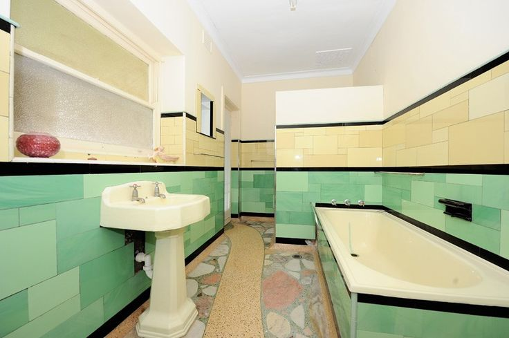 1950s bathroom vintage home pinterest