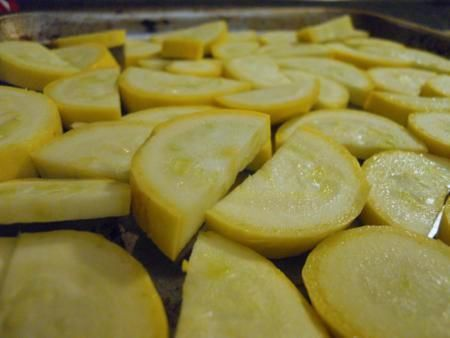 Simple roasted yellow squash | Recipes | Pinterest
