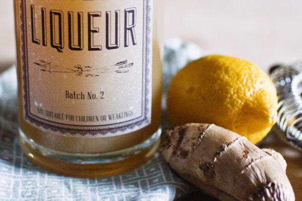 DIY ginger liqueur recipe | For my love | Pinterest