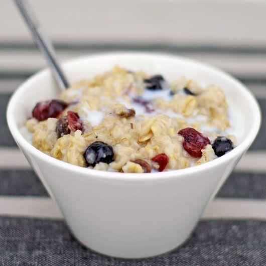 Creamy Microwave Oatmeal Recipe   Breakfast Recipes ...