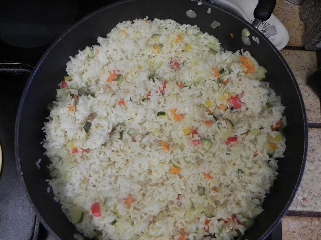 Super Easy Confetti Rice Recipe - Great for Fresh Vegetables!