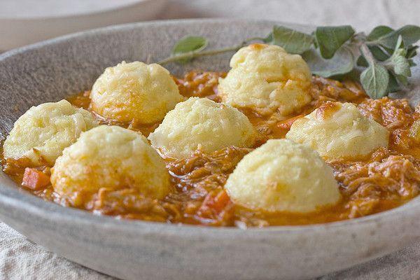 pork ragu with semolina gnocchi | savory | Pinterest
