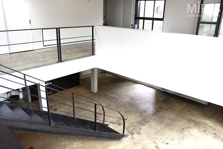 beton brut loft gallery pinterest. Black Bedroom Furniture Sets. Home Design Ideas