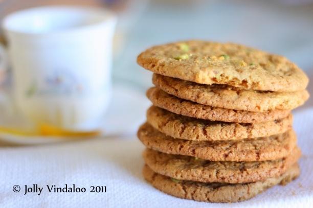 pistachio and lemon cookies | Lemon * Love | Pinterest