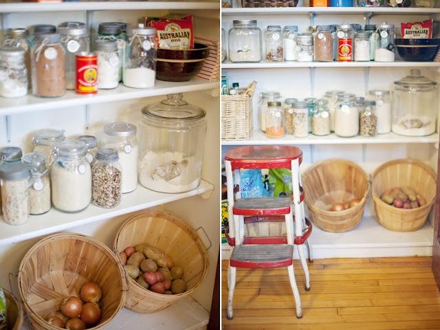 Farmhouse pantry.