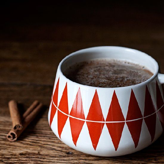 Hot chai buttered rum for a warming winter drink.