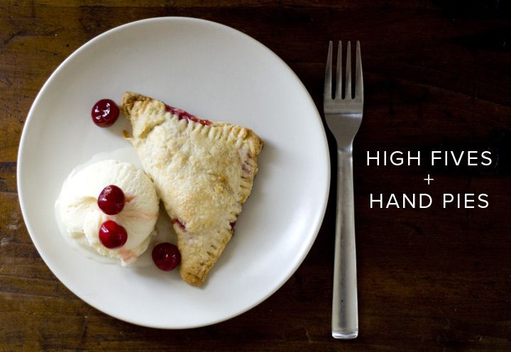 Sour Cherry Hand Pies - I want one...probably more than one.