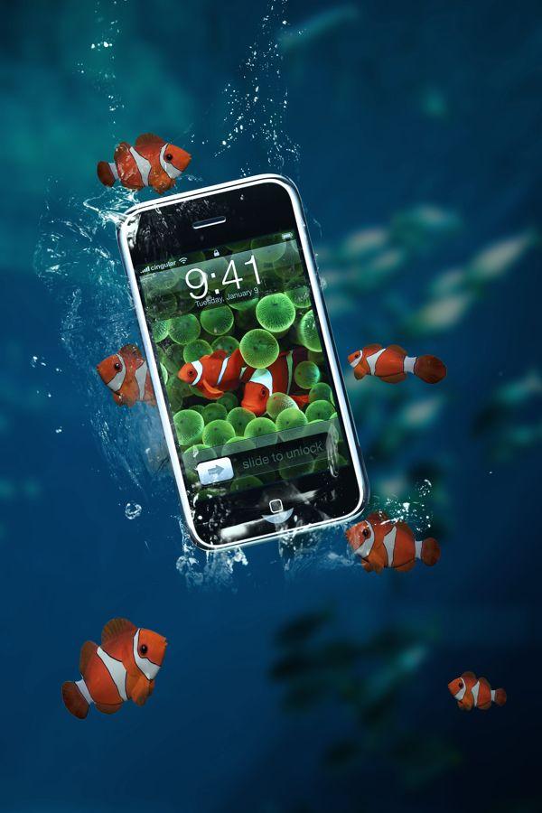 Smartphone print ad | Smart phone advertising photography ...