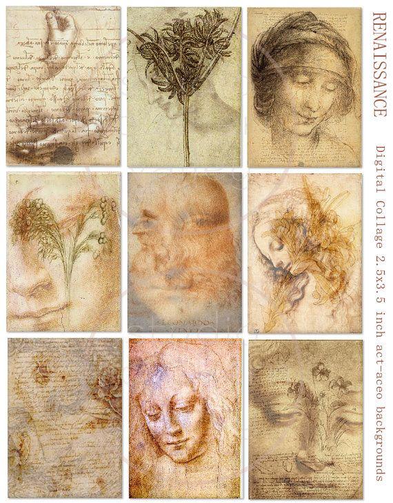 Renaissance, good idea for a collage