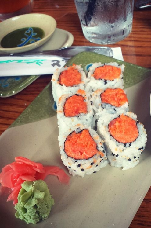 Spicy Tuna Rolls | SUSHI. I took a seminar to make these. First I was ...