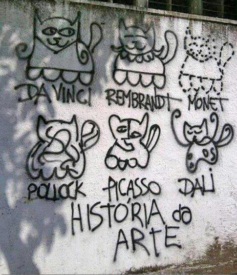 the art in street art