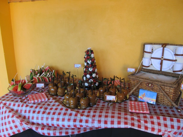 picnic dessert table | picnic party pegs | Pinterest