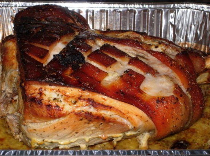 Cuban Style Pork Roast with Mojo Criollo AKA Lechon Asado con Mojo ...