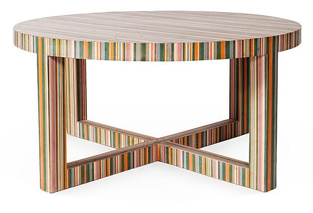 Multi Colored Coffee Table