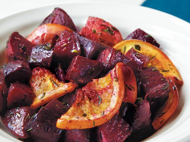 Honey-Roasted Beets With Orange And Thyme Recipe — Dishmaps