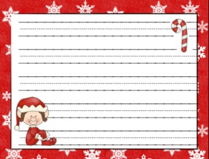 Christmas+Elf+Writing+Paper FREE Elf on the Shelf Writing Paper (One ...