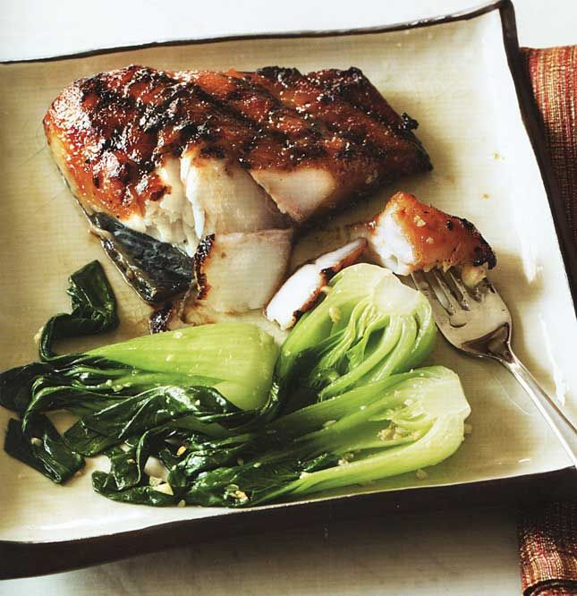Miso glazed black cod | delish | Pinterest