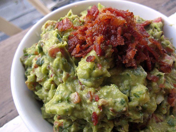 , creamy guacamole, and crunchy bacon, each bite of bacon guacamole ...