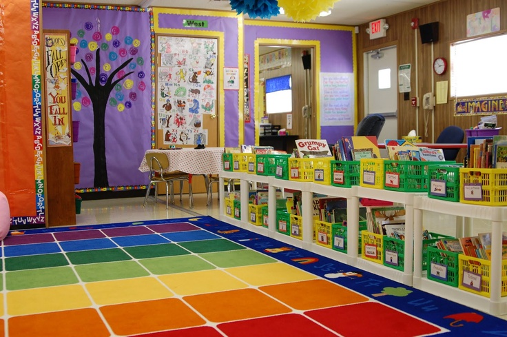 Classroom Decoration Colorful : Colorful classroom kids ministry spaces some day