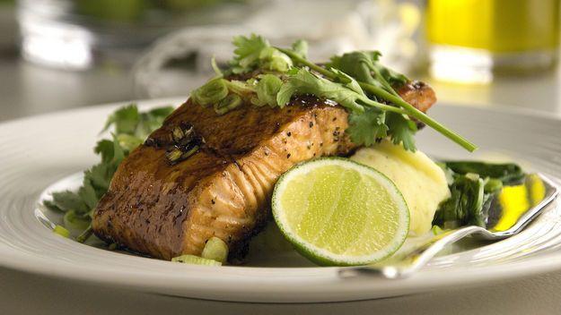 soy glazed salmon | ::F00D::DiNNER | Pinterest