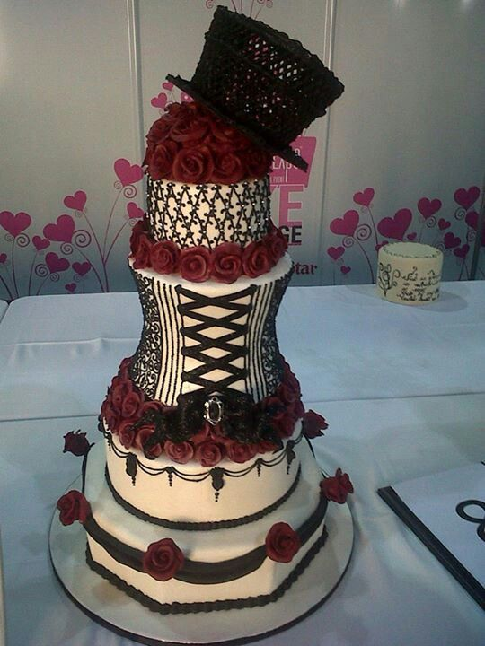 corset cake images