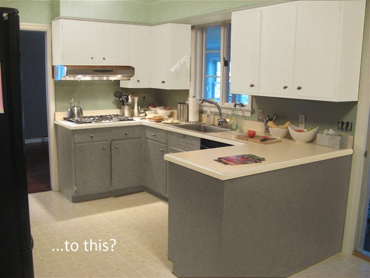 What Color Should I Paint My Kitchen Cabinets Captivating With Should I Paint My Dark Kitchen Cabinets? — Good Questions Image