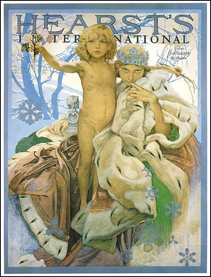 Alphonse Mucha -  Hearst's International