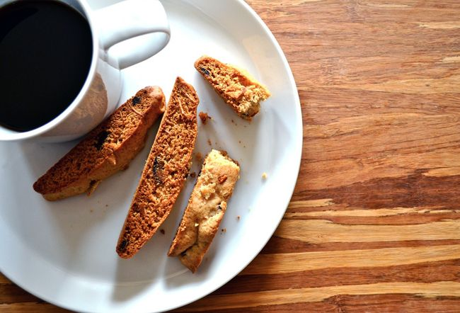 honey almond biscotti | For the love of-biscotti! | Pinterest