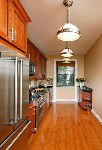 a single wall kitchen galley kitchen kitchens pinterest