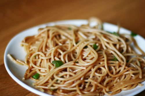 Simple Sesame Noodles - Alyssa B. Young - In the Wabe