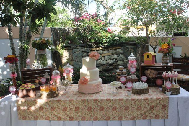 garden theme baby shower party ideas