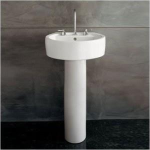 Porcher Pedestal Sink : porcher pedestal sink - modern Tasty Interiors Pinterest