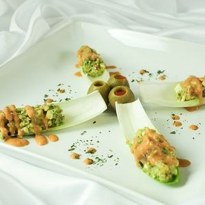 Chef J's Avocado Feta Salsa from MyRecipes.com