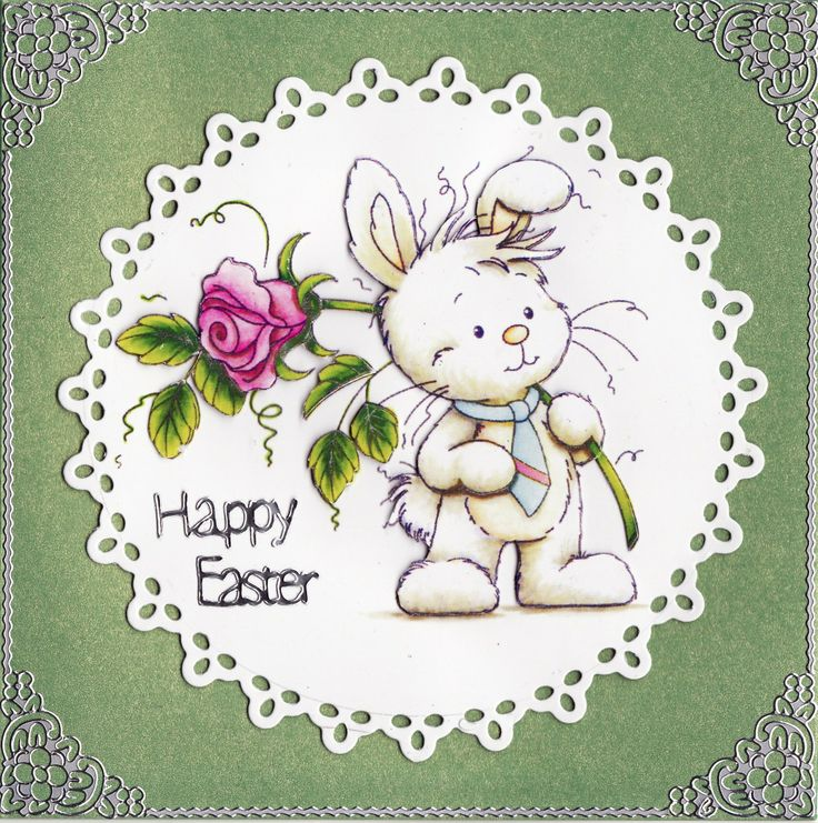 3D 'Happy Easter' Card | Tassie Scrapangel - Easter Cards | Pinterest: www.pinterest.com/pin/493425702895957596