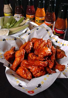 """All of you who are whining about the """"health"""" of the food clearly aren't going to Bdubs for their intended purpose of premium bar food. They are wings – the darkest of the meat."""