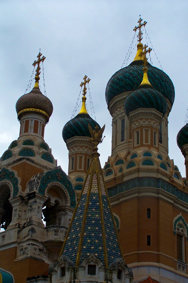 Architecture clochers bulbes glise russe for Architecture russe